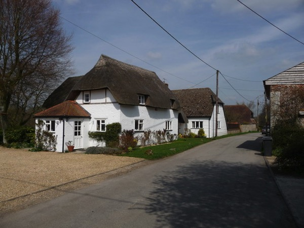 Nether Wallop Country Cottage geograph org uk 1801379